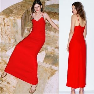 ❤️❤️ZARA LIMITED EDITION LONG TANK DRESS